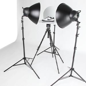 360 laipsnių produktų fotografija